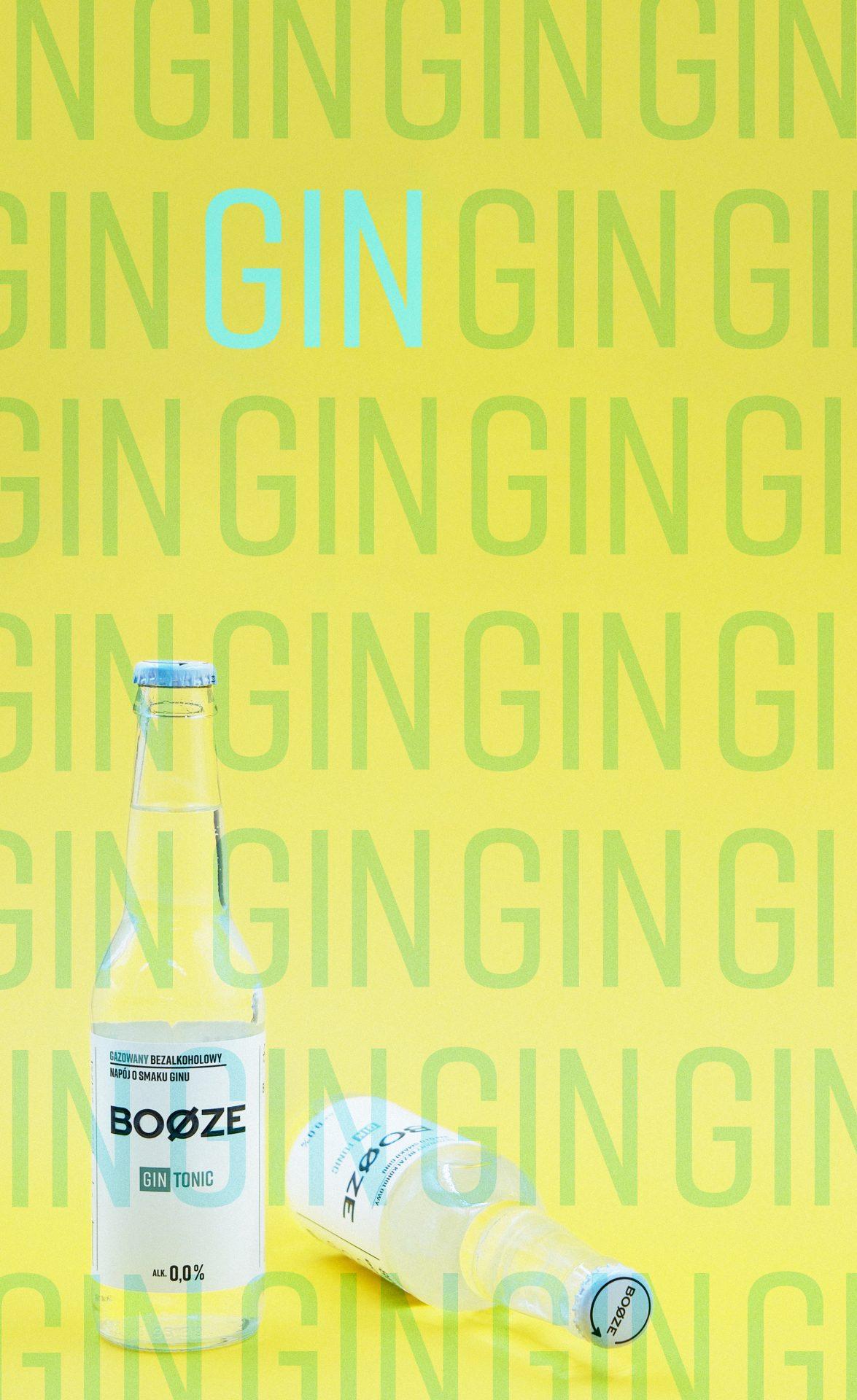 Booze Gin tonic